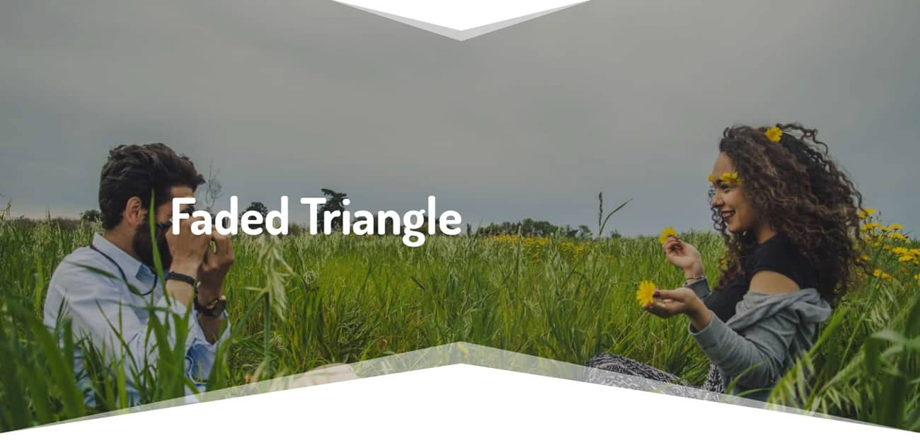 Faded Triangle